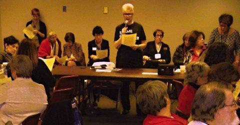 Missouri Women in Jefferson City on April, 2016 Equity Day